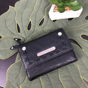 Volcom Vegan Leather Nocturnal Trifold Wallet